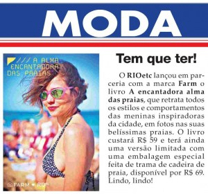 coluna do Julio Honaiser no jornal O Fluminense!