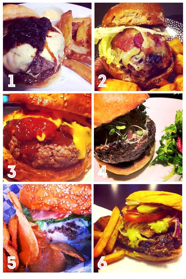 Top 10 hambúrgueres do Rio