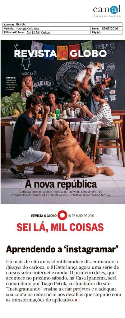 Infoglobo - O Globo - 15 mai 2016 - Page #67