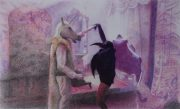 Artista Monica Barki_Persona 2_2016_Lápis de cor sobre papel Fabriano_40x67.5 cm